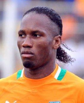 Didier Drogba hair