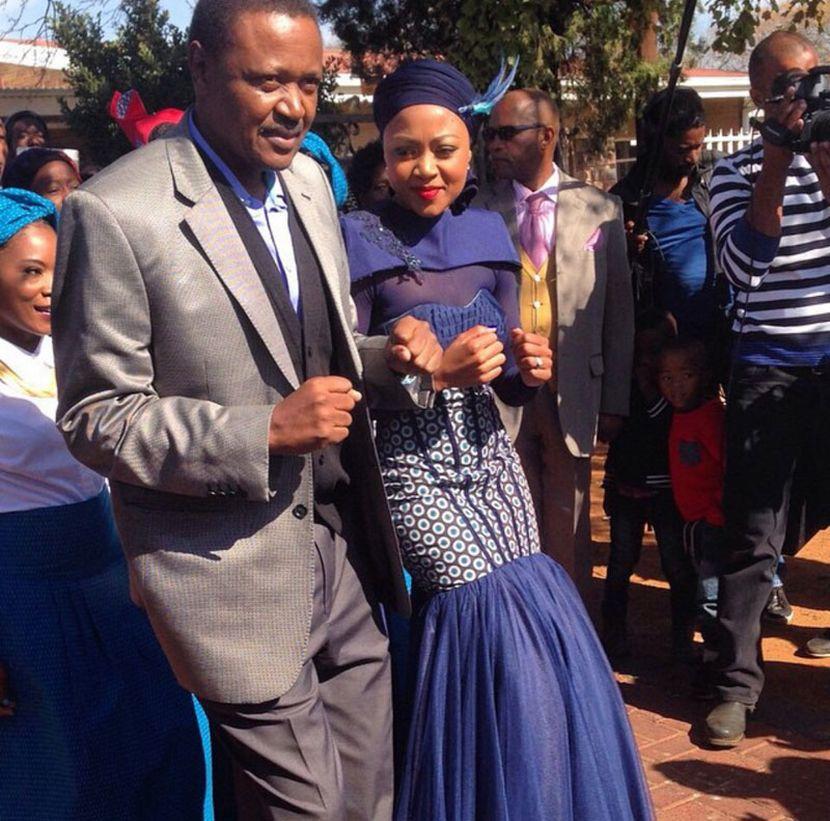 Tokelo Rantie Ties The Knot With Gaoitswe 'Gigi'