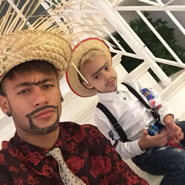 Image Gallery Neymar Family