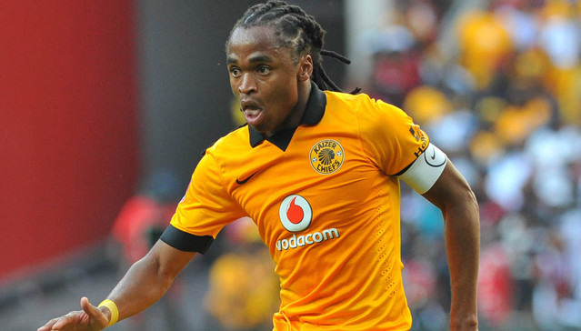 Siphiwe Tshabalala of Kaizer Chiefs during the Absa Premiership football match between Orlando Pirates and Kaizer Chiefs at the FNB Stadium, Johannesburg on 15 March 2014 ©Samuel Shivambu/BackpagePix