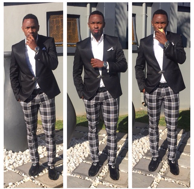 Check Out Bernard Parker And His Dress Style