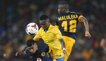 Football - Absa Premiership 2013/14 - Mamelodi Sundowns v Kaizer Chiefs - Loftus Versfeld