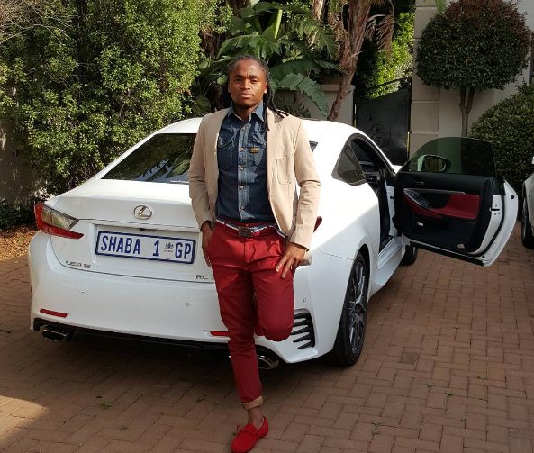 Shabalala Showing Off His Beautiful Car Check Out