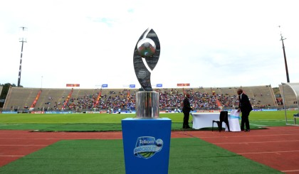 Telkom Knockout Trophy during the Telkom Knockout match between Supersport United and Orlando Pirates on the 23 November 2013 at Lucas Moripe Stadium © Sydney Mahlangu/BackpagePix