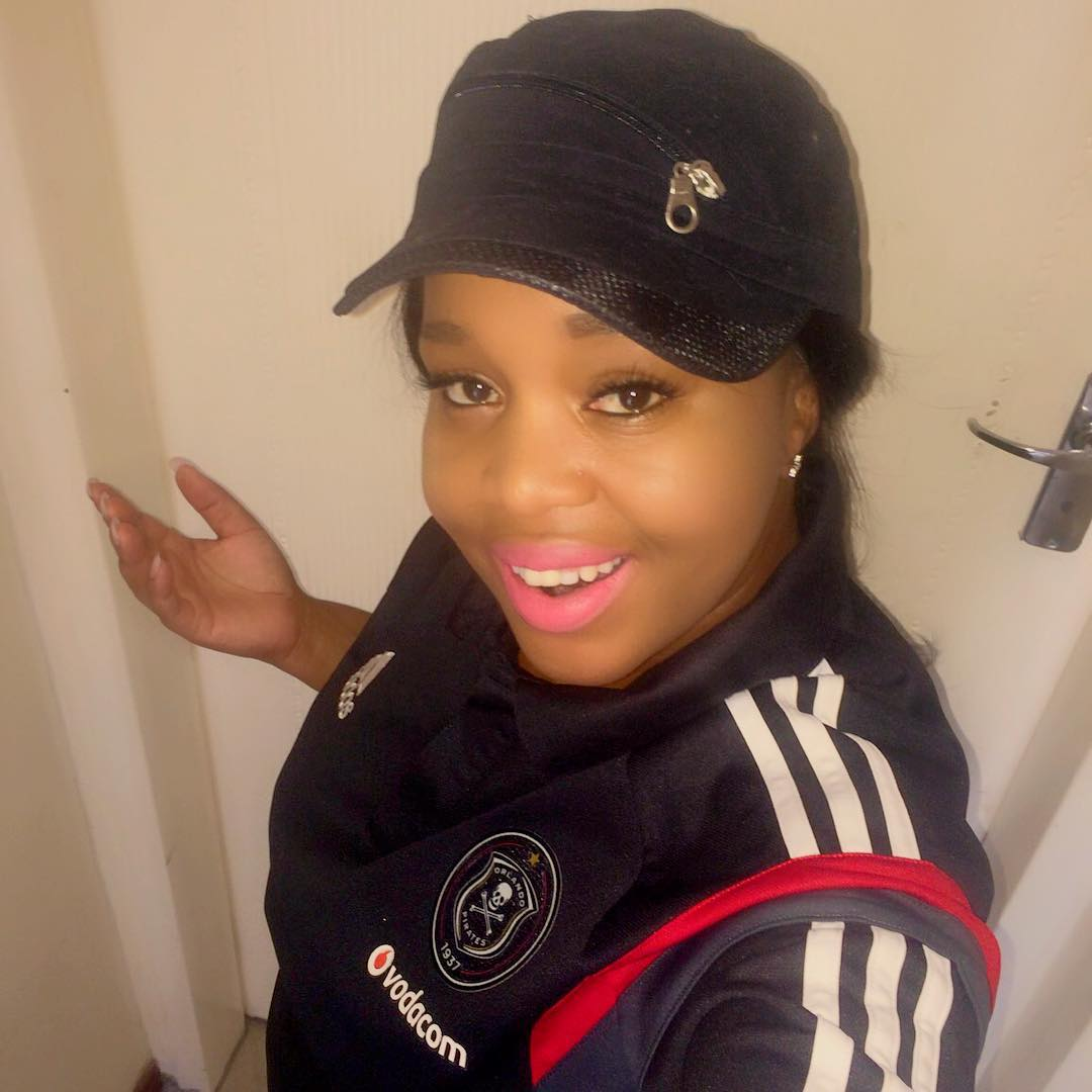 Winnie Mashaba a proud Orlando Pirates supporter