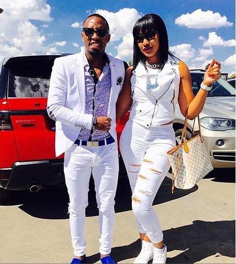 5 Cute Photos Of Bernard Parker And His Wife