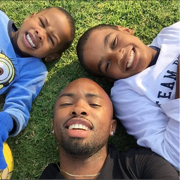 Check Out Some Of SA's Coolest Footballer Dads