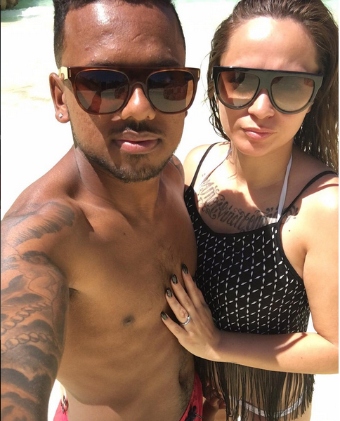 5 Romantic Photos Of Kermit Erasmus And His Wife