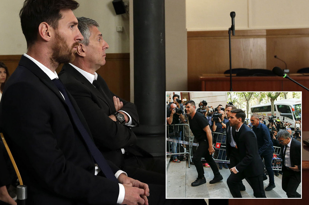 Messi Sentenced 21 Months In Prison For Tax Evasion Charges