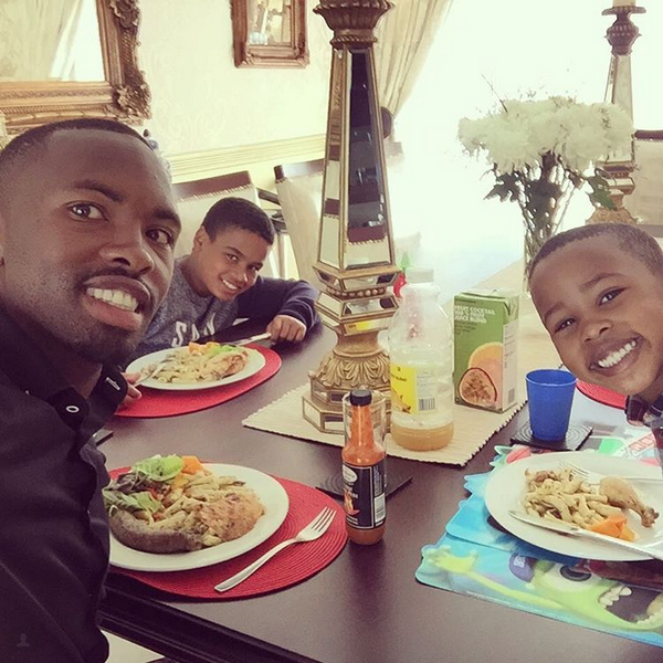 5 Photos Of Bernard Parker Spending Time With His Sons