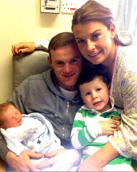 rooney and his family1