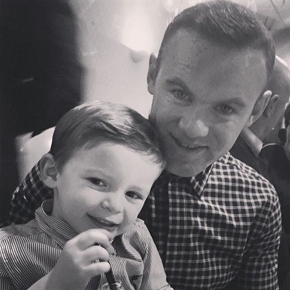 rooney and his family3