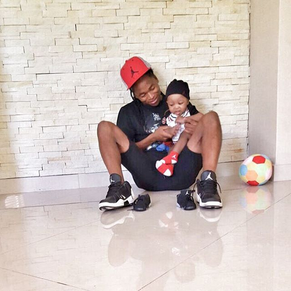 5 Times Siphiwe Tshabalala Has Inspired South African Men To Be Great Fathers