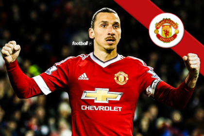 zlatan Ibrahimovic at manchester united