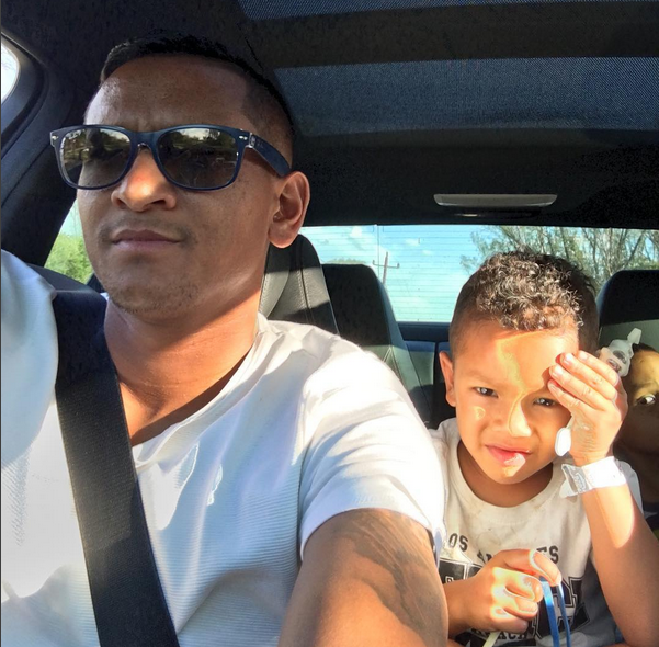 Checkout 5 Cute Photos Of Daine Klate's Two Sons