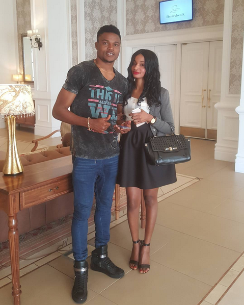Checkout 5 Cute Photos Of James Okwuosa With His Wife