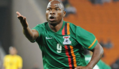 Checkout Photos Of Mbesuma With His Zambian Team-mates