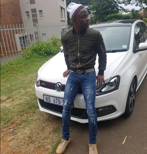 Kudakwashe Mahachi Shows Off His VW Golf GTI