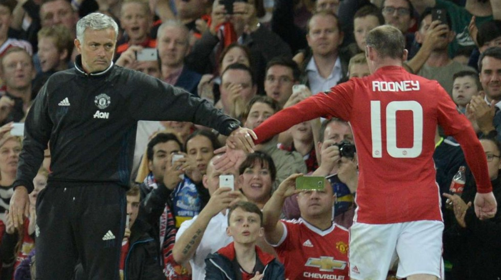 Mourinho Explains Rooney's Role In Manchester United Team