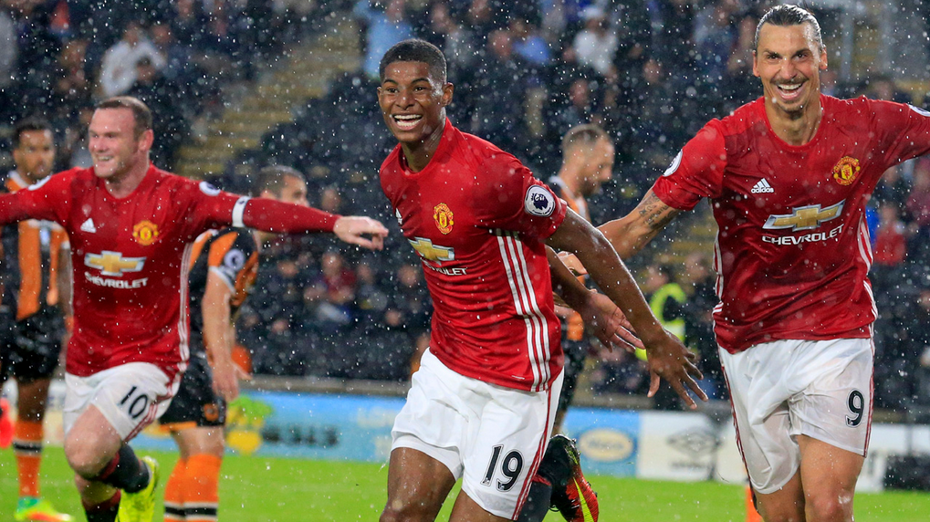Watch Marcus Rashford vs Hull City Individual Skills