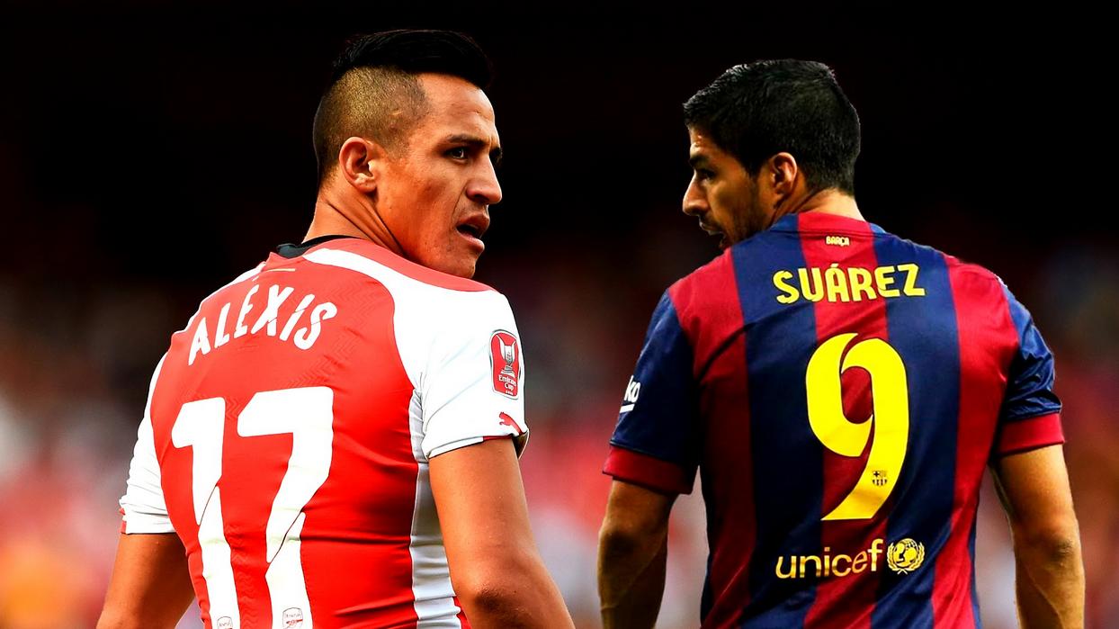 Wenger Compares Alexis Sanchez To Luis Suarez