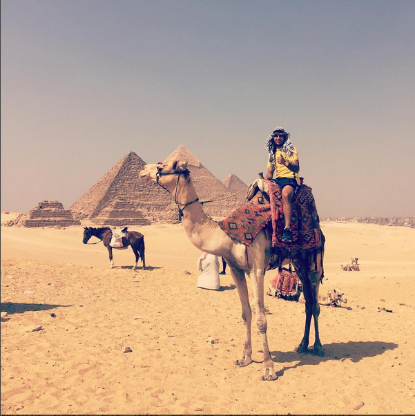 keagan in egypt