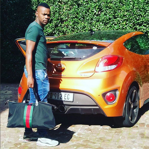 mbentani and his car