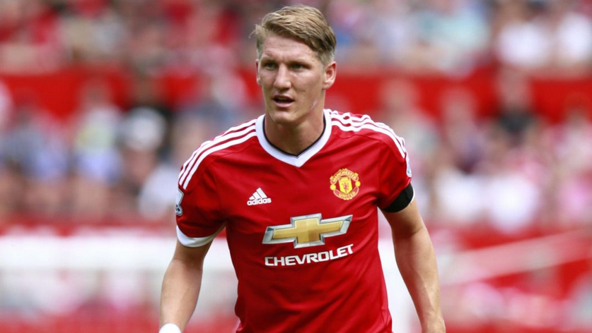 Schweinsteiger Features In The 25-man United Premier League Squad