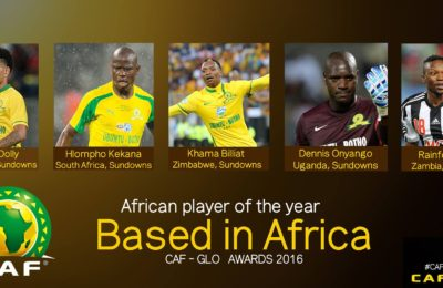 5 Final Nominees For CAF African Player Of The Year