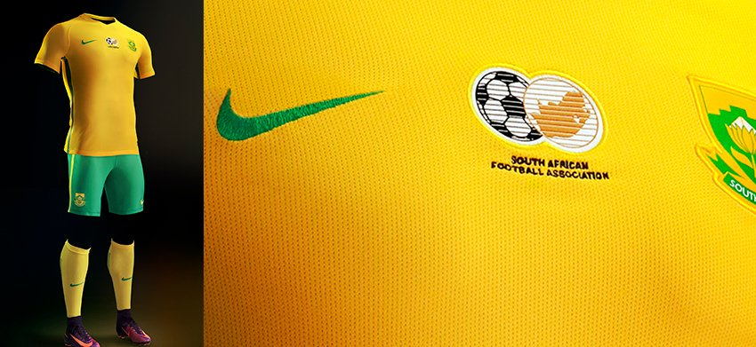 db2c36f4c1d Nike and SAFA have unveiled the new 2016-2017 national teams kit ...