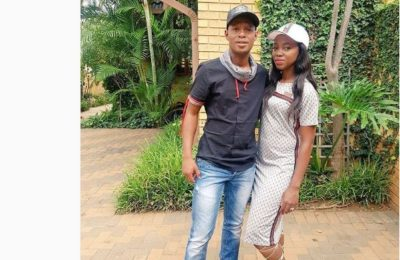 Jabu Mahlangu Spoils His Bae With Designer Shoes For Her B'day