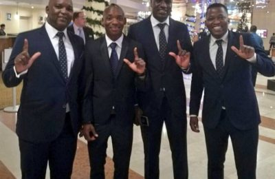 Mosimane Scoops African Coach Of The Year Award At The Glo CAF Awards