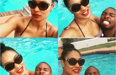 Pics! Bernard Parker And His Wife's PDA Packed Holiday