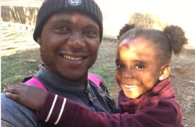 Proud Dad Thuso Phala Cutest Moments With His Daughter