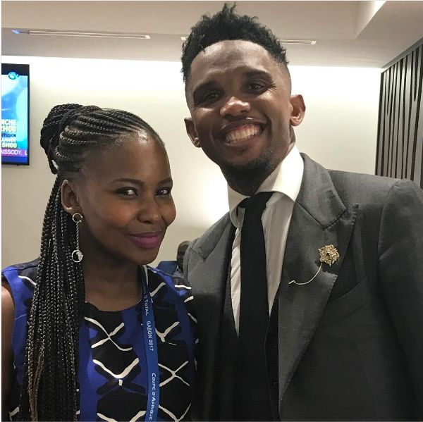 5 Times Carol Tshabalala Hung Out With The Hottest Football Stars