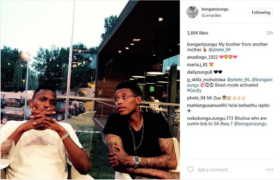 Bongani Zungu Blesses Himself With An Expensive Designer Watch