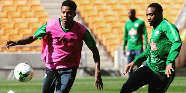 Bafana Bafana In Full Training Ahead Of AFCON Qualifier With Nigeria