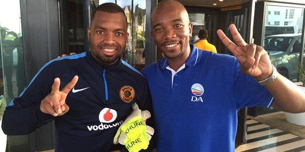 Pic! DA Leader Mmusi Maimane Once A Hopeful Footballer