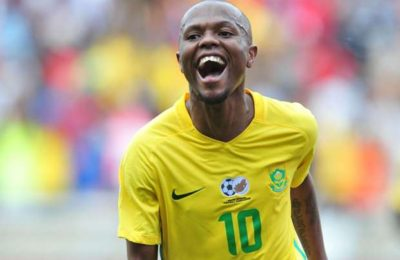 Serero Gives Bafana Bafana The Middile Finger Again