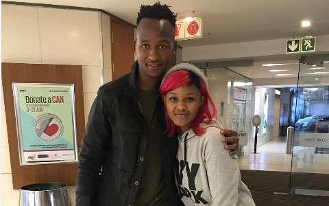 Check Out Babes Wodumo's Farewell Message To Brilliant Khuzwayo