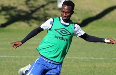 Pics! First Photos Of Teko Modise Training With CT City FC
