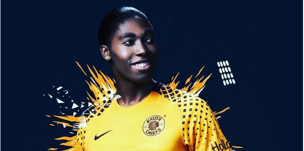 Pics! Kaizer Chiefs' Celebrity Supporters Rock The New Jersey