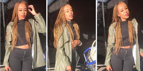 Pics! Katlego Mphela's Girlfriend Pulane Shows Off Her Bikini Body