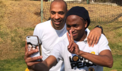 Check Out Shabba's Brthday Message To Thierry Henry