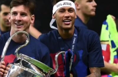 """I Am Your Fan And Will Always Admire You,"" Neymar To Messi"