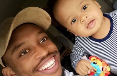 Lebogang Phiri Celebrates His Son's First Birthday