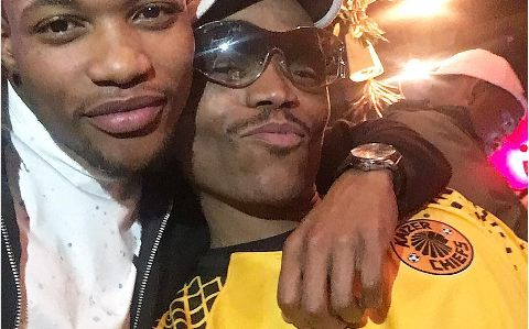 Media Personality Somizi Shows His Love For Amakhosi