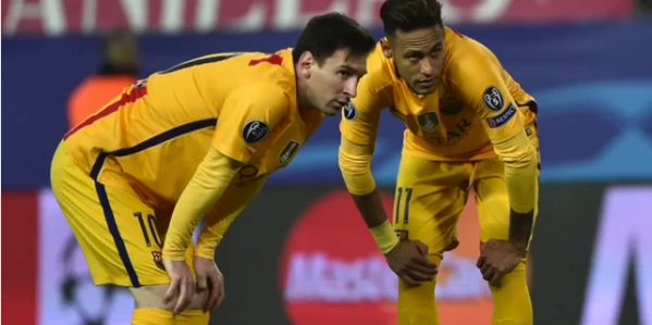 Messi Leads In Bidding Farewell To Neymar