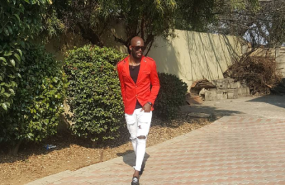 Watch! Anthony Laffor Tries His Hand At Modelling