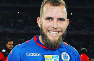 Brockie Predicted His 2 Goals Against Maritzburg United